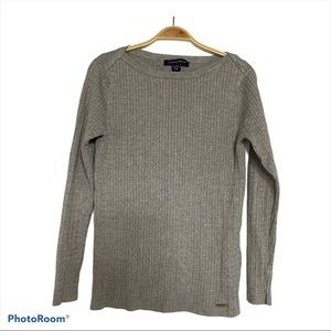Tommy Hilfiger Cable Knit Boat Neck Women Sweater
